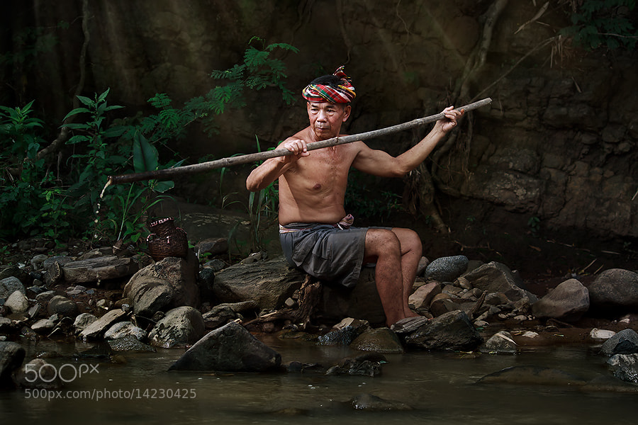 Photograph :) fisher man (: by jeerasak Chaisongmuang on 500px