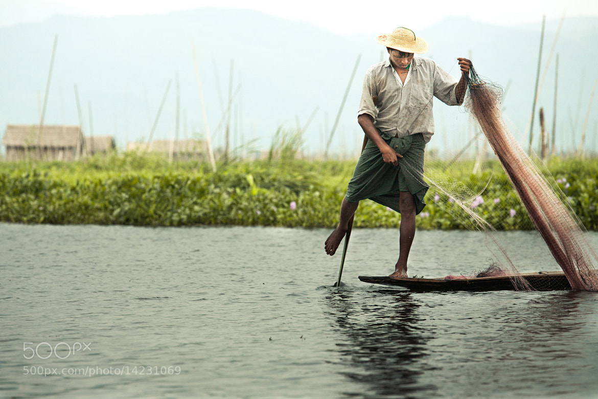 Photograph Fisherman from Inle by Philippe CAP on 500px