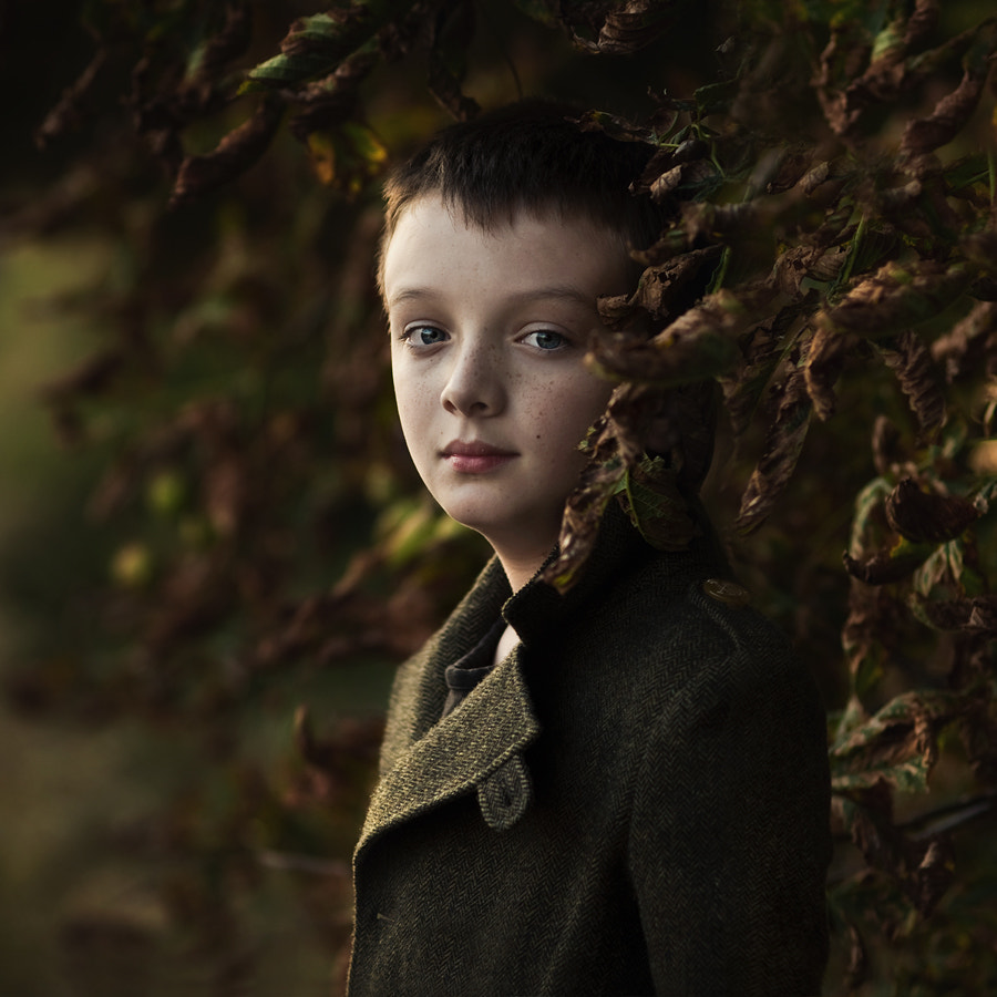 Photograph Autumn Portrait by Magdalena Berny on 500px