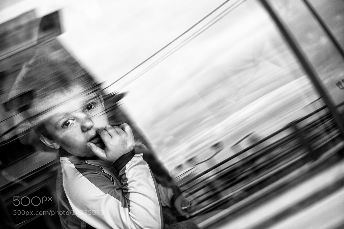 Photograph Small boy in a car by Michael Avory on 500px