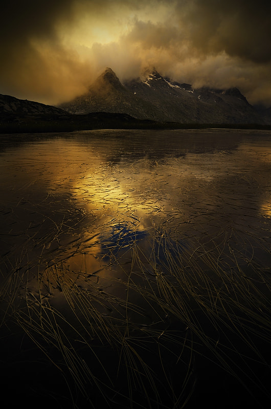 Photograph dark lake by Marco Barone on 500px