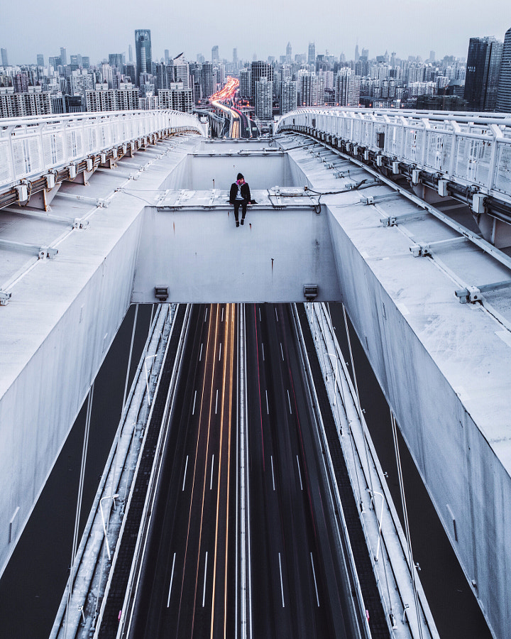 Me on a bridge by Jennifer Bin on 500px.com