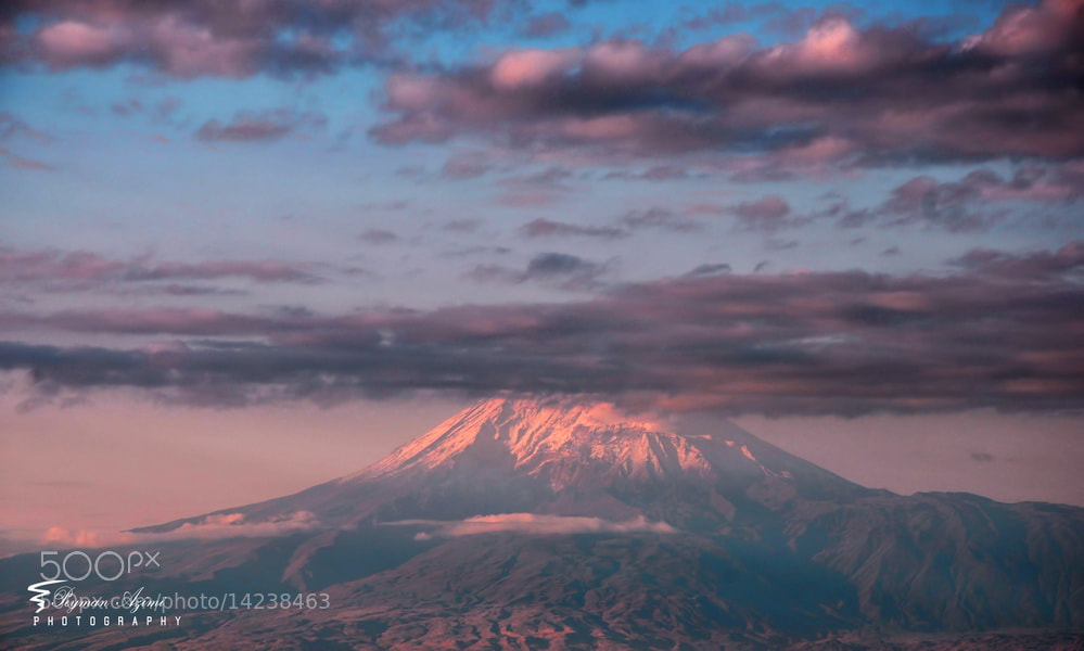 Photograph  Ağrı Dağı ....(Ararat) 2 by Peyman Az on 500px