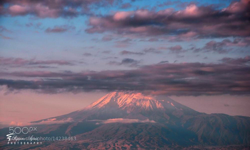Photograph  Ağrı Dağı ....(Ararat) 2 by Peyman Az on 500px