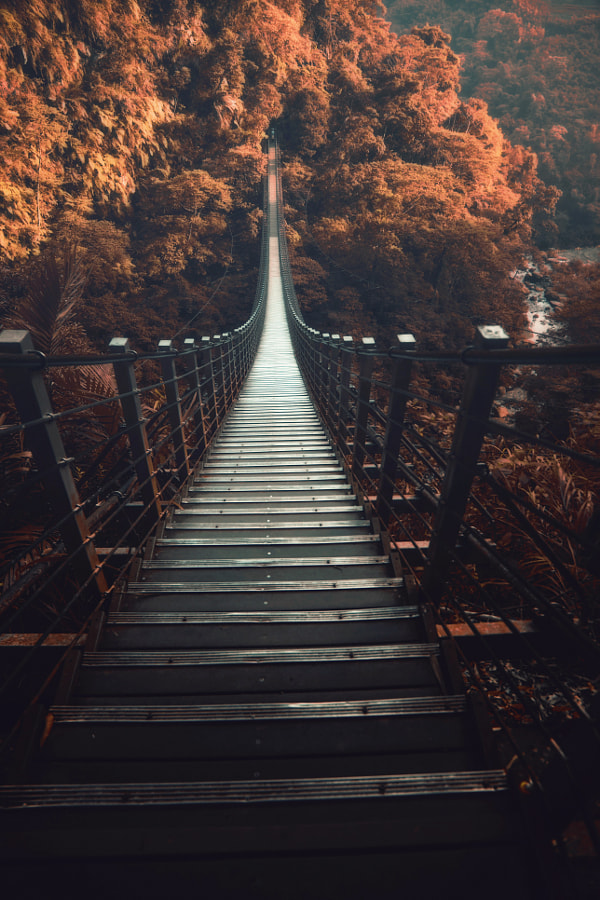 The Sky Stairs by Hanson Mao(???) on 500px.com