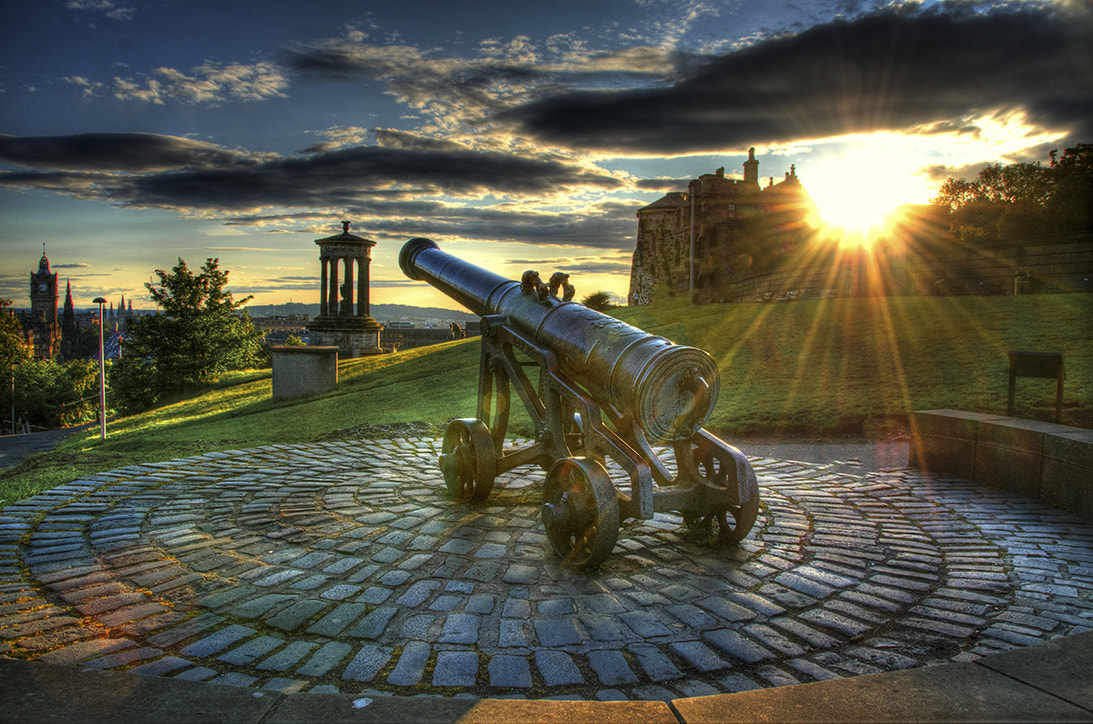 Photograph The Cannon On Calton Hill by William McIntosh on 500px