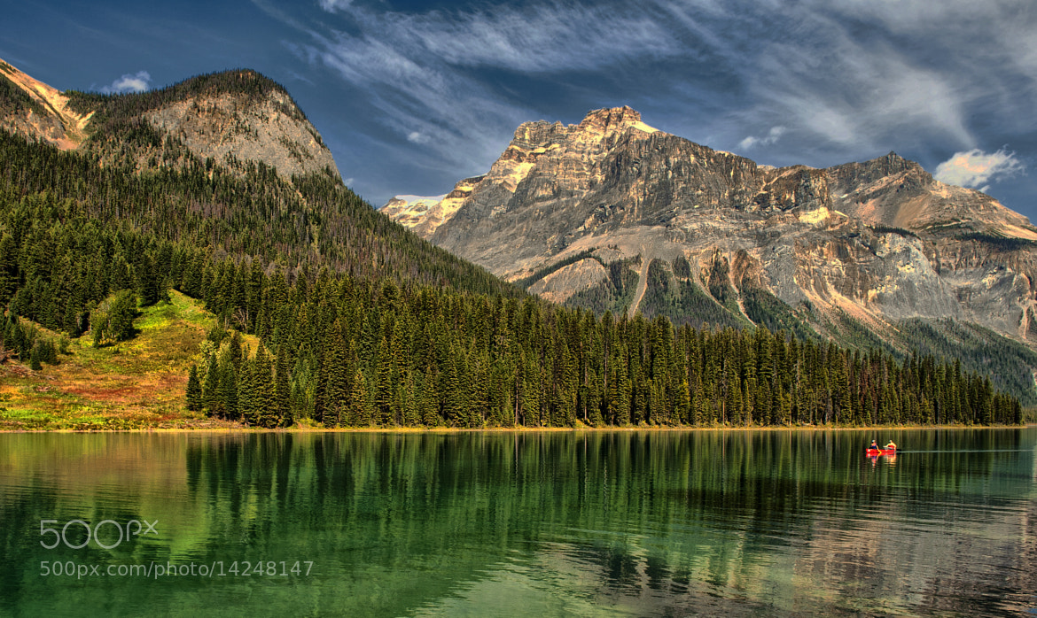 Photograph Emerald Lake View by Jeff Clow on 500px