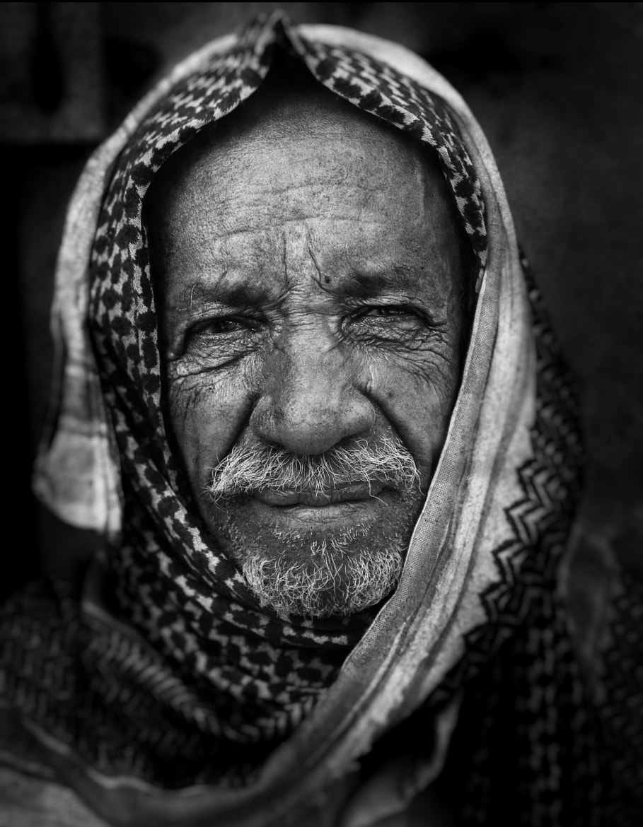 Photograph Wrinkles fatigue by Hassan  Almulla  on 500px