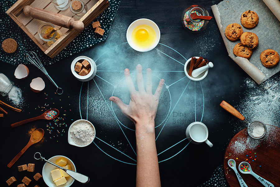 Baking transmutation by Dina Belenko on 500px.com