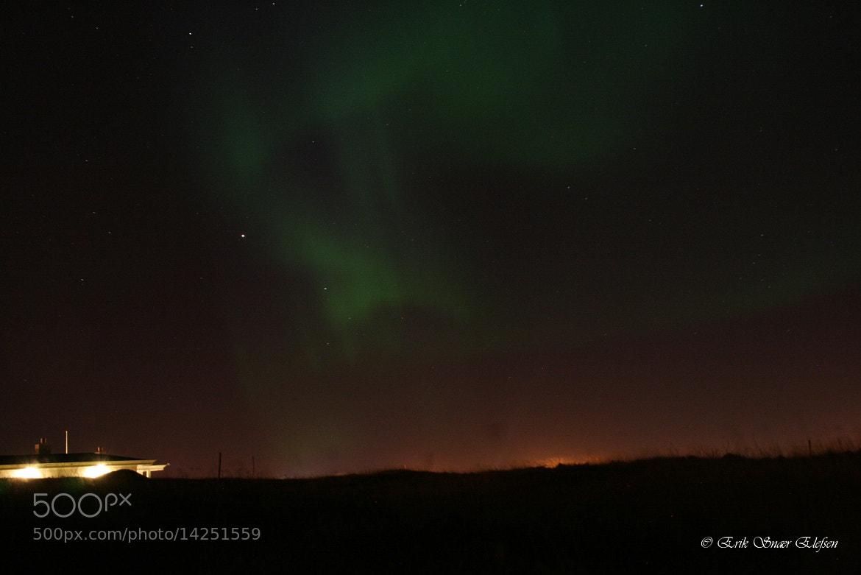 Photograph Northern Lights at Innri-Njarðvík 19.09.2012 by Erik  Snær on 500px