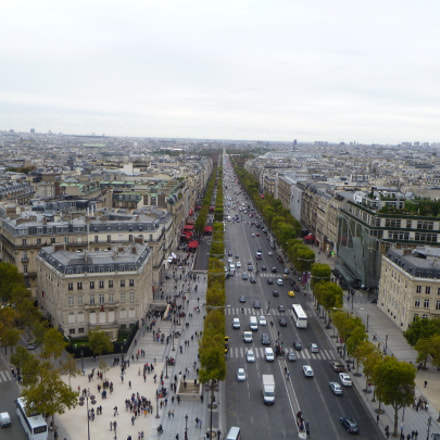 Paris from the top, Panasonic DMC-FH22