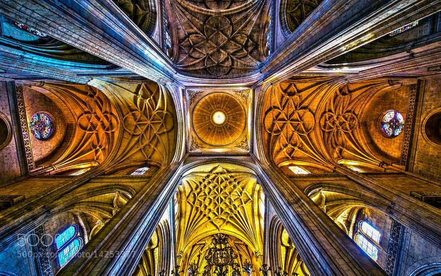 Photograph Ceiling Top by William Liberman on 500px