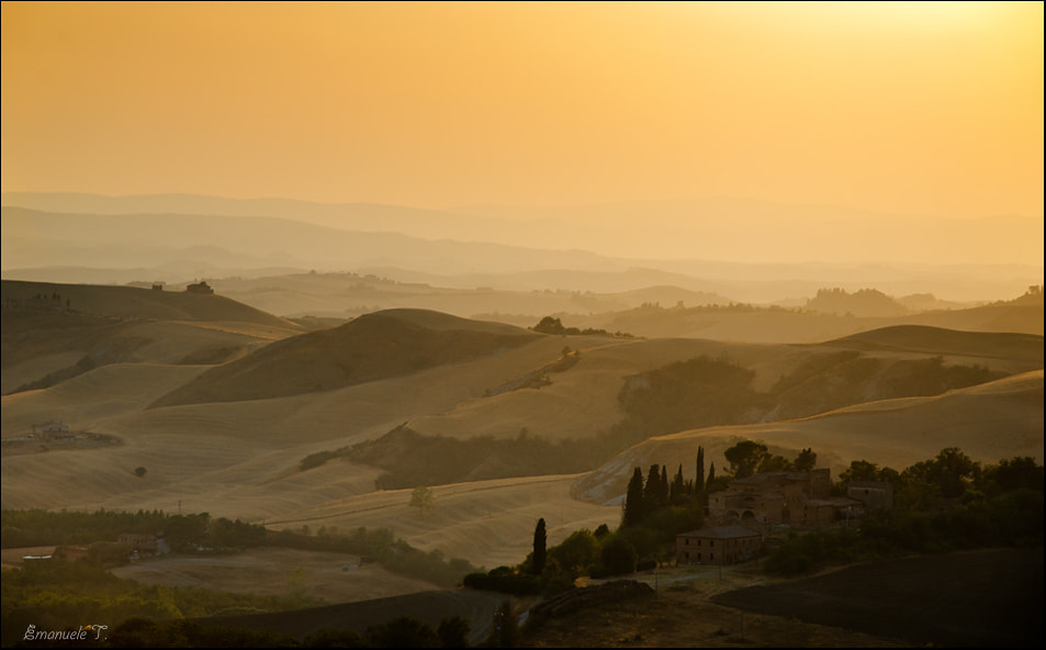 Photograph Tuscany sunset by Emanuele Torrisi on 500px