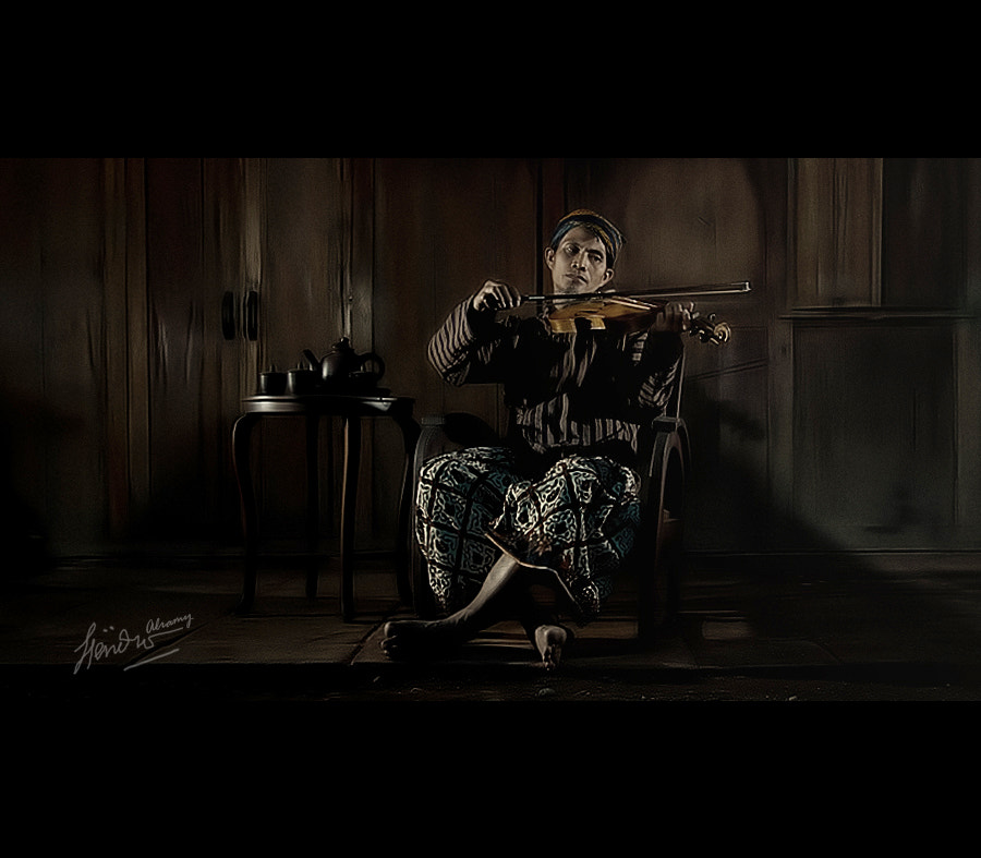 """Photograph """" the violinist """" by Hendro Alramy on 500px"""