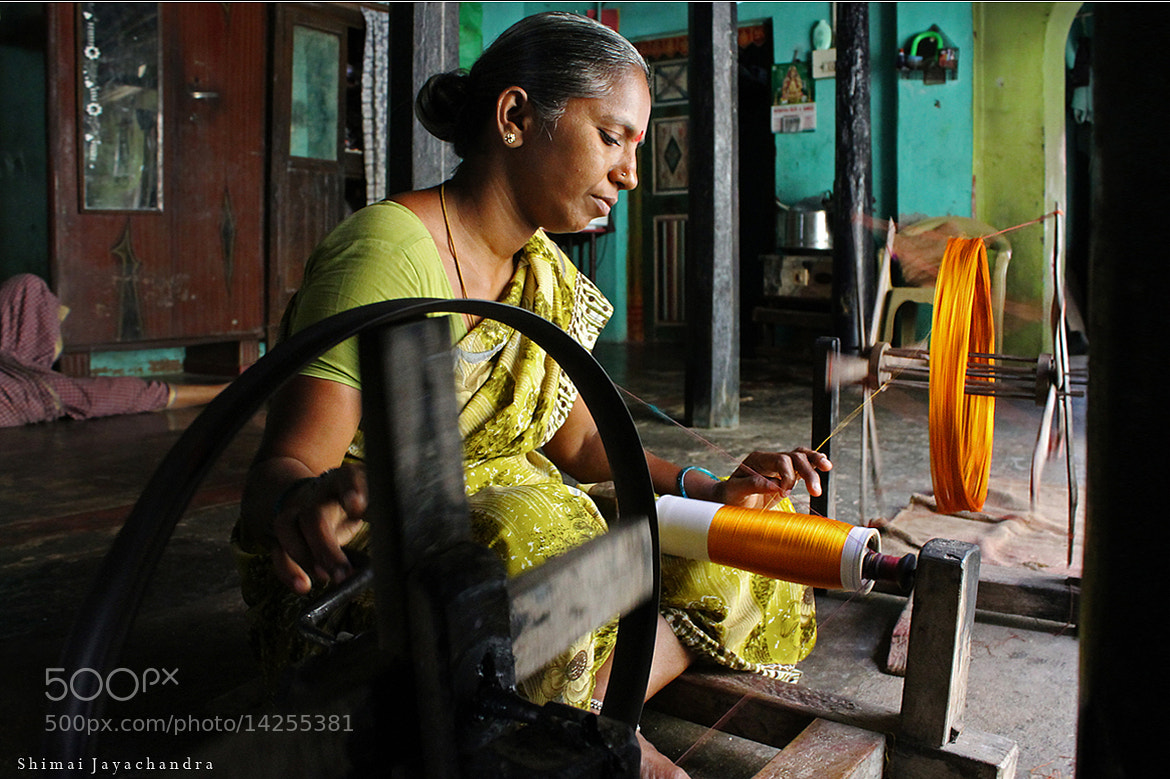Photograph {hands on spinning} by Shimai Jayachandra on 500px
