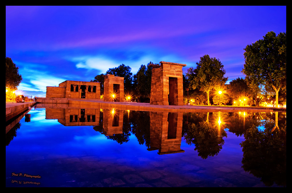 Photograph Temple of Debod, Madrid by Fred Picard on 500px