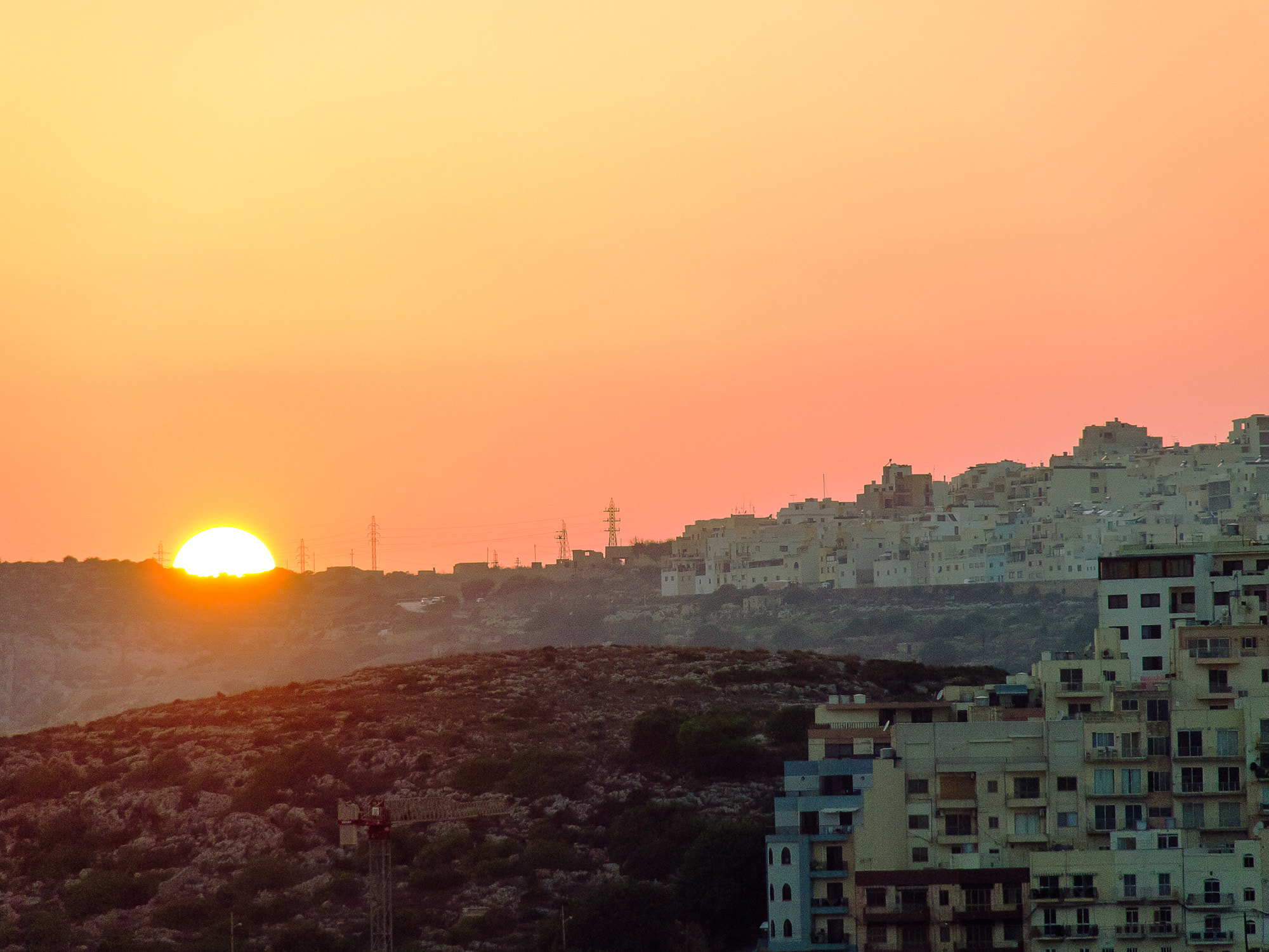 Photograph sunset over mellieha, malta by ivon daniel on 500px