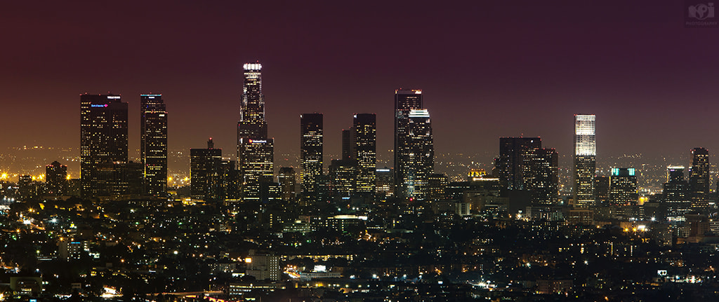 Photograph Los Angeles At Night! by Nhut Pham on 500px