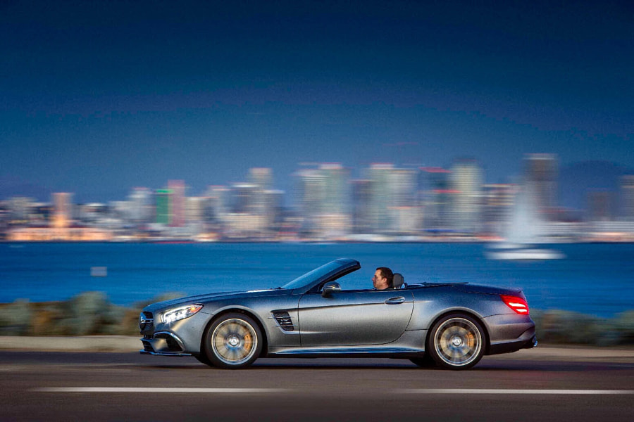 Mercedes SL, San Diego 2016 by Andreas Lindlahr on 500px.com