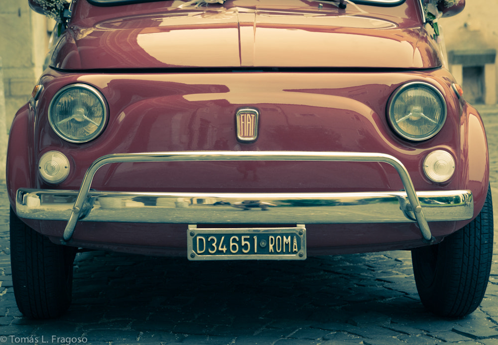 Photograph Roma - Fiat Vintage by Tomás López-Fragoso Rumeu on 500px