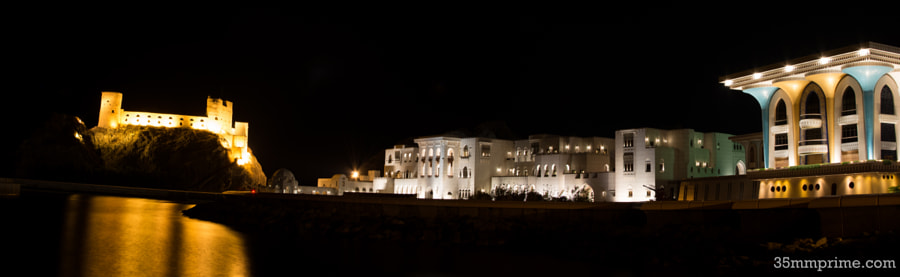 View of Sultan Qaboo's Palace, Muscat