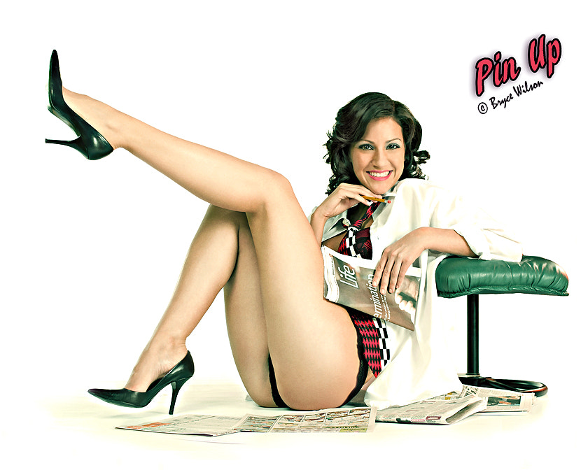 Photograph Sexy Female Executive Pin Up by Foto Fix on 500px