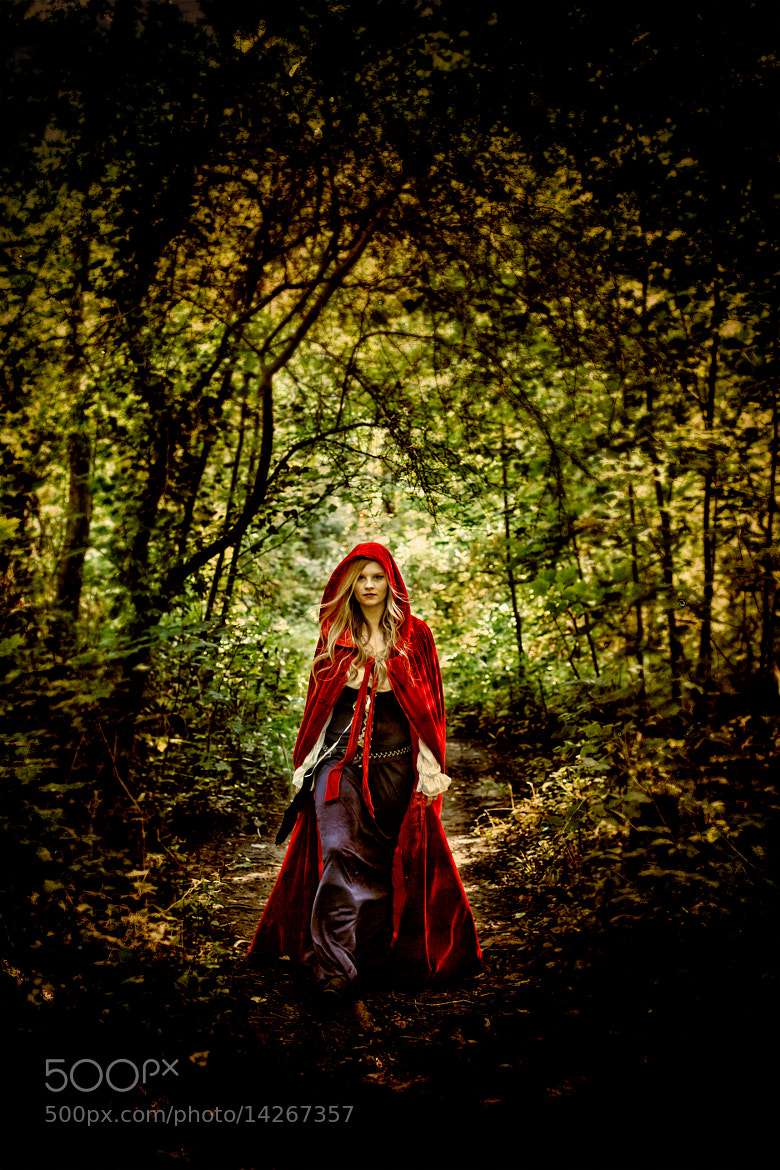 Photograph Red Riding Hood by Innershadows Photography on 500px