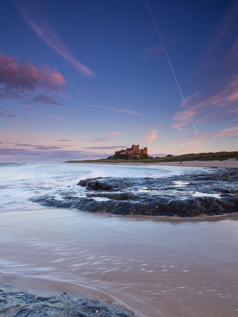 Photograph Bamburgh Castle, Twilight by Keith Muir on 500px