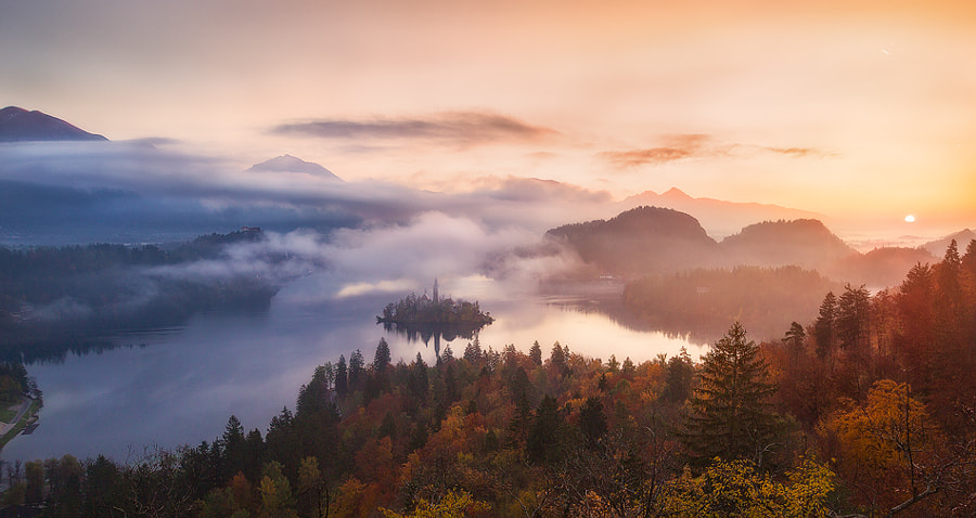Lake Bled by Ramit Dey on 500px.com