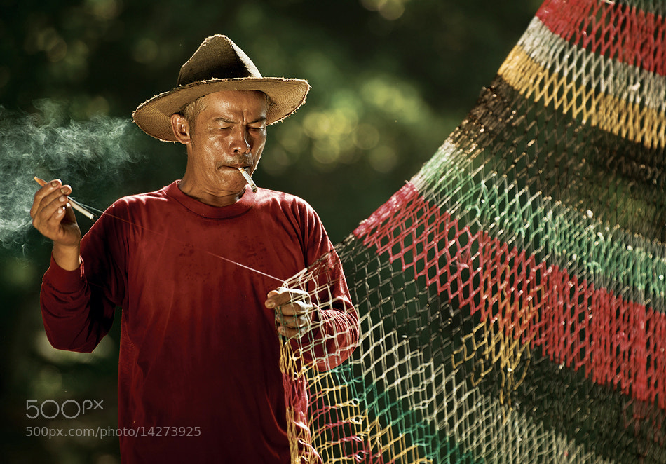 Photograph Fisherman Portrait by Mieke Suharini on 500px