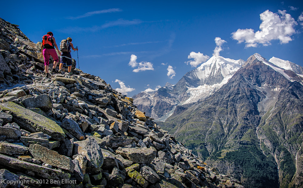 Photograph Gettin' High in the Alps by Ben Elliott on 500px