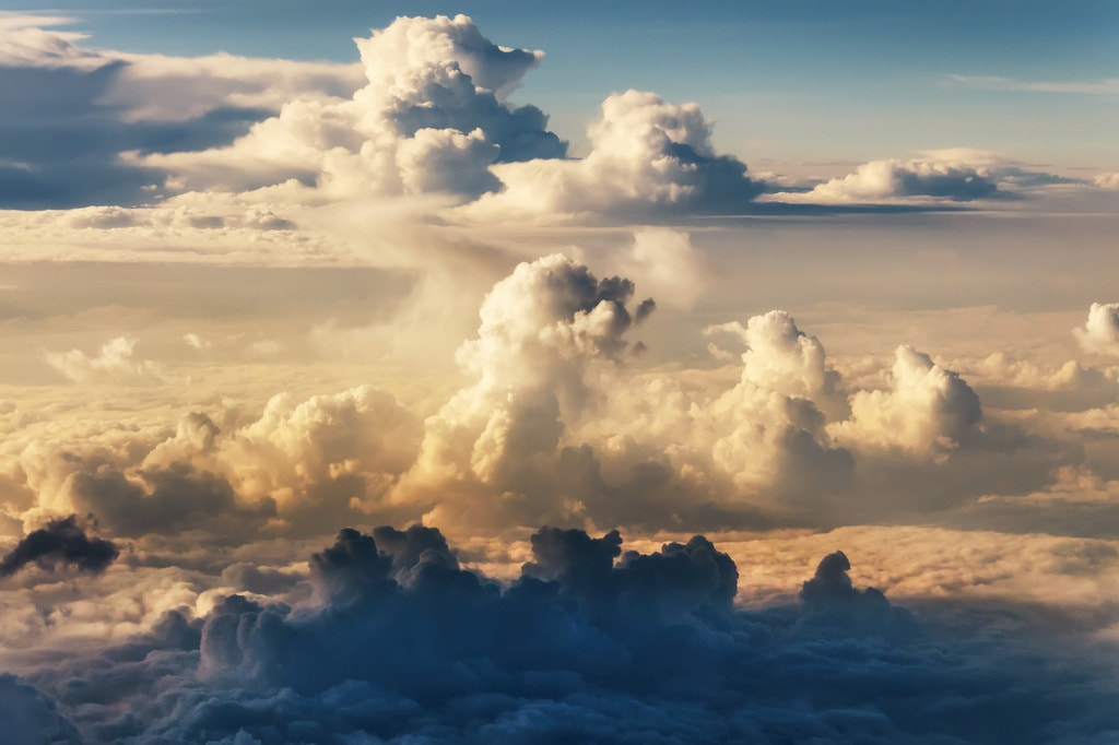 Photograph Clouds Below by Bill Dickinson on 500px