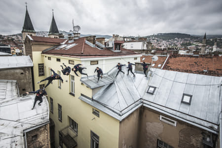 Jason Paul on rofftops in Sarajevo, Bosnia and Herzegovina. by Klassy Goldberg on 500px