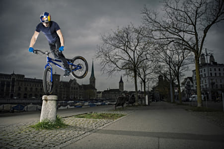 Danny MacAskill competing in Zurich, Switzerland. by Red Bull Photography on 500px