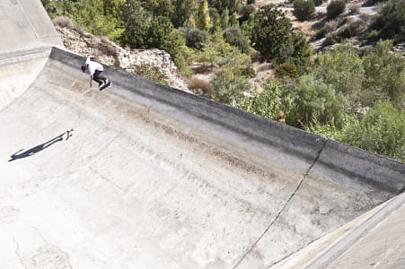 Jost Arens Performs a Nollie Heel in Cyprus by Red Bull Photography on 500px