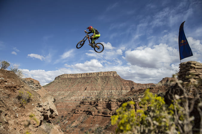 Brendan Fairclough practising in Virgin, Utah, USA. by Red Bull Photography on 500px