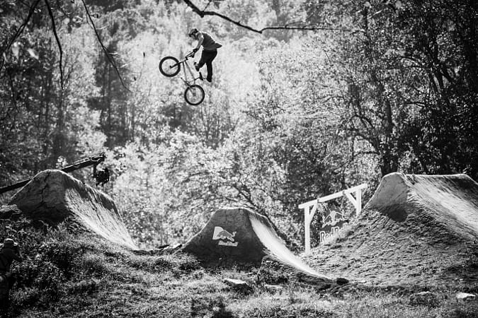 Chris Doyle competing at the Red Bull Dreamline mountain biking competition in Asheville, United... by Red Bull Photography on 500px