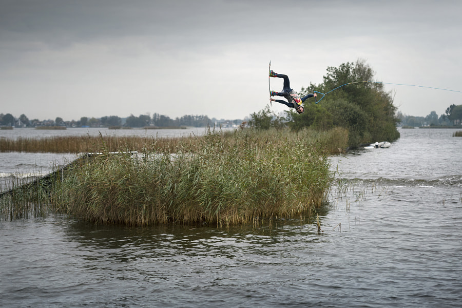 Marc Kroon performing on Loosdrechtse Plassen in Oud-Loosdrecht, North Holland, Netherlands. by Red Bull Photography on 500px.com