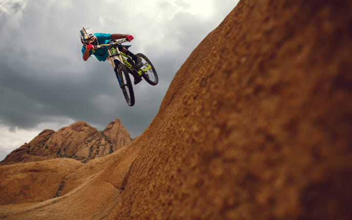 Kyle Jameson competing at in Namibia.  by Red Bull Photography on 500px