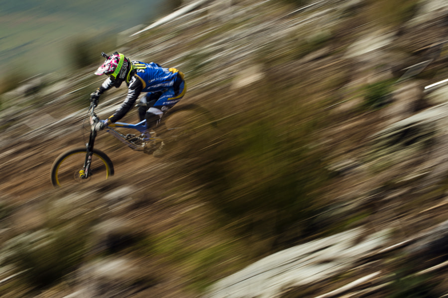 Joe Smith competing at Red Bull Hardline in Welshpool, Wales. by Red Bull Photography on 500px.com