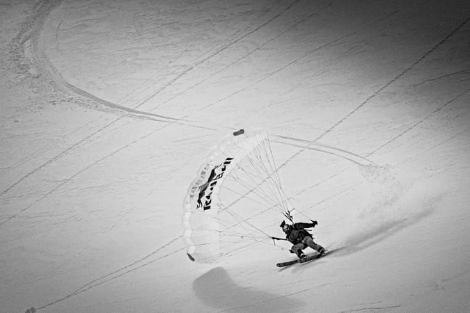 Andy Farrington filming The Unrideables: Alaska Range in the Tordrillo Mountains, United States... by Red Bull Photography on 500px