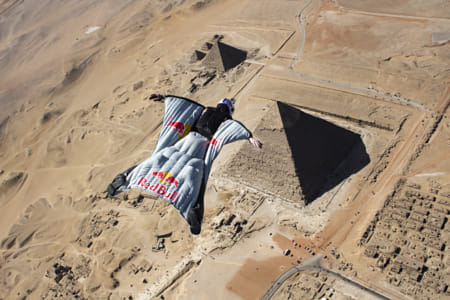 Cedric Dumont Performs During Pyramids: Leap of Wonder at the Pyramids of Giza, Cairo, Egypt. by Red Bull Photography on 500px