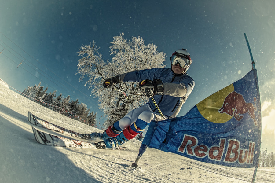 Competitor at Red Bull Zjazd Na Kreche in Szcyrk, Switzerland. by Red Bull Photography on 500px.com