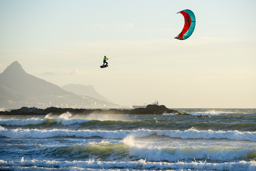 Nick Jacobsen Performs During Red Bull King of the Air at Big Bay, Cape Town, South Africa. by Red Bull Photography on 500px.com