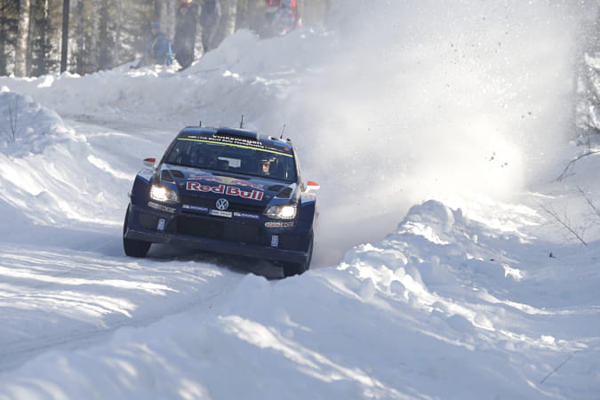 Jari-Matti Latvala racing at Hagfors, Varmland County, Sweden. by Red Bull Photography on 500px