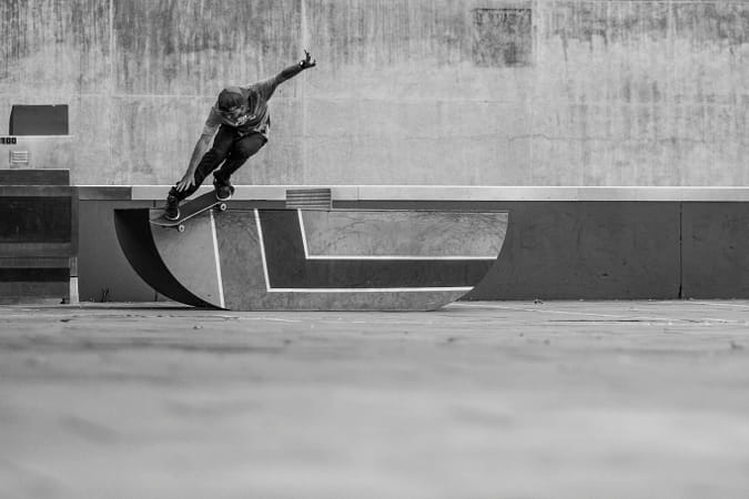 Mikey Mendoza performs backside smith grind in Newcastle, Australia. by Red Bull Photography on 500px