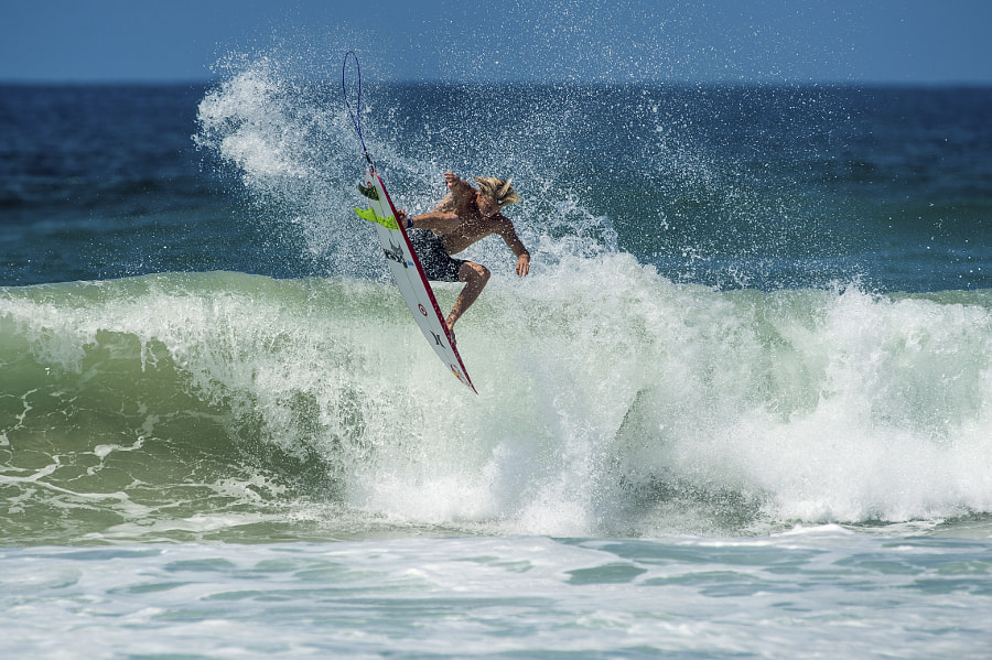 Kolohe Andino surfing in Coolangatta, Queensland, Australia. by Red Bull Photography on 500px.com