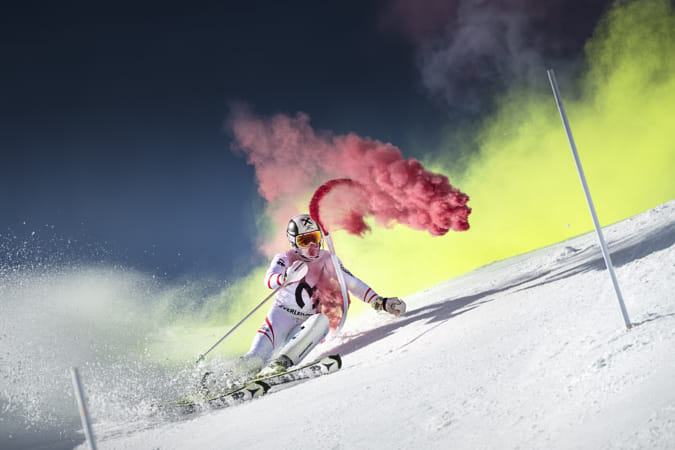 Marcel Hirscher performing at Reiteralm, Austria. by Red Bull Photography on 500px
