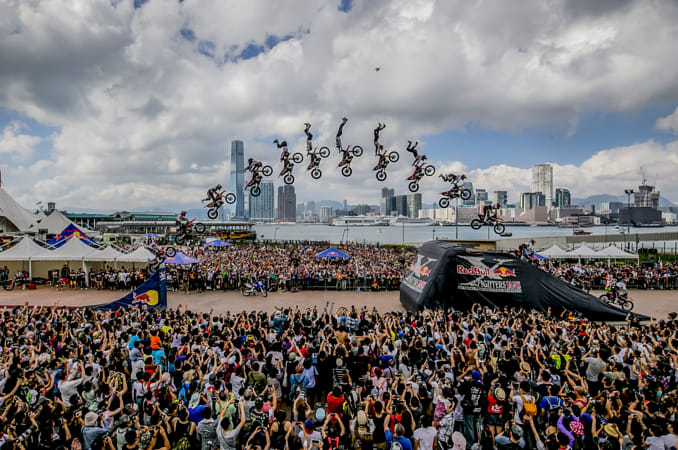 Nick Franklin at Red Bull X-Fighters Jams 2015 in Hong Kong. by Red Bull Photography on 500px