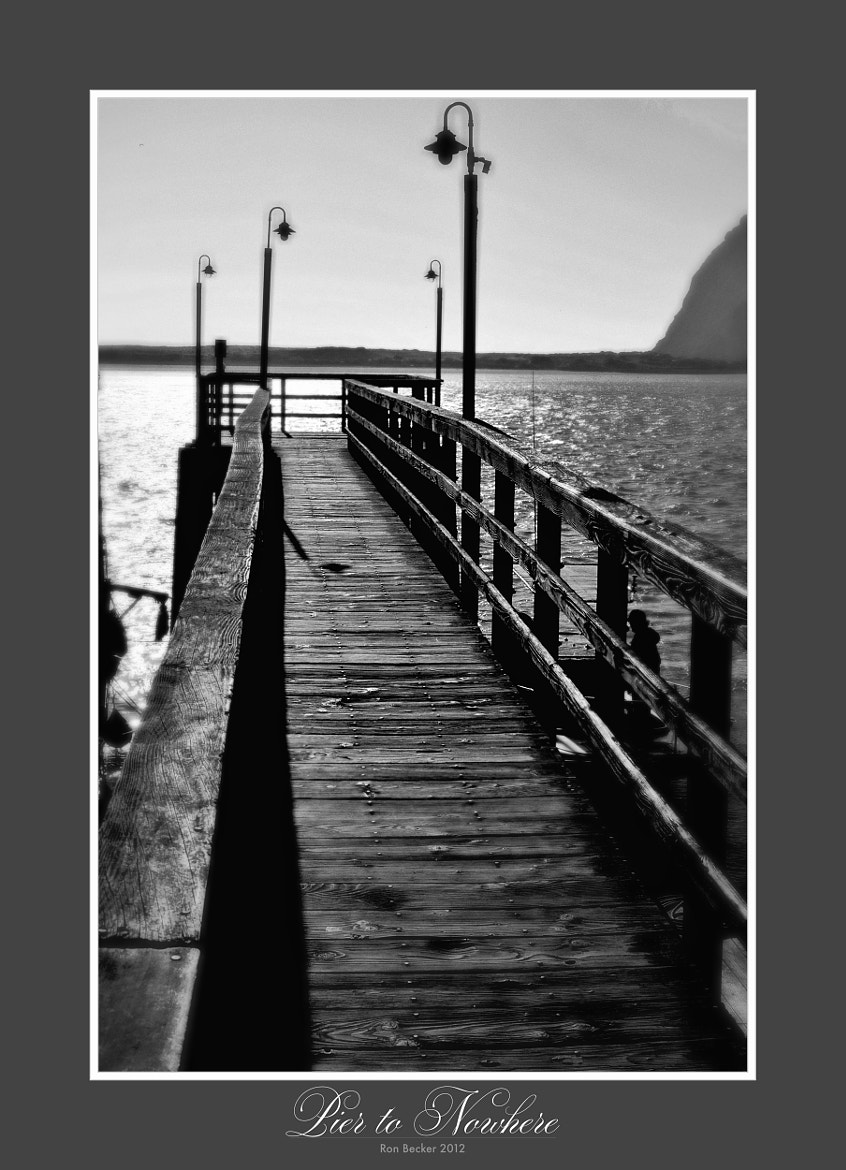 Photograph Pier to Nowhere by Ron Becker on 500px